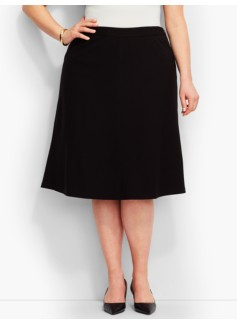 Italian Luxe Knit Full Skirt
