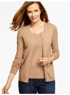 Long-Sleeve Charming Cardigan
