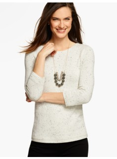 Tweed A-Line Sweater