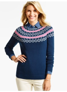 Diamond Fair Isle Sweater