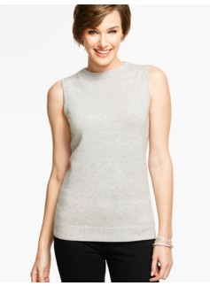 Cashmere Audrey Sweater Shell - Sparkle