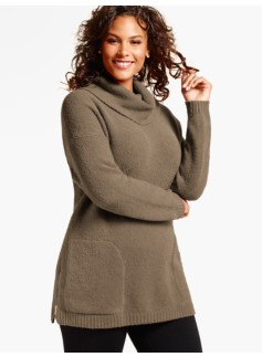 Boucl� Tunic Sweater