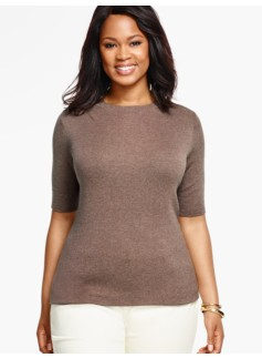 Elbow-Sleeve Sweater