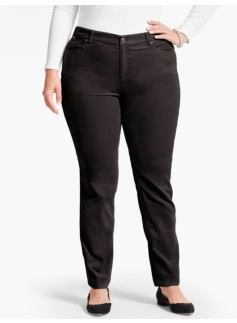 The Flawless Five-Pocket Velveteen Straight-Leg