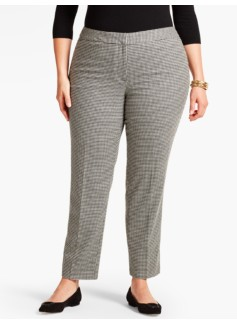 Talbots Hampshire Ankle Pant-Equestrian Hound Print