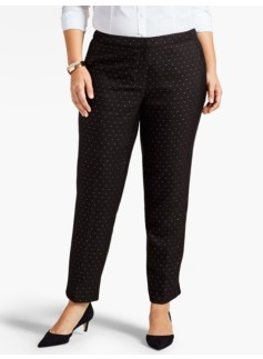Sparkle Dots Tailored Ankle Pant