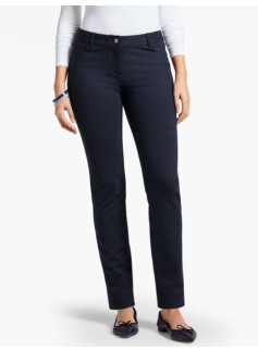 Weekend Ponte Straight-Leg Pant