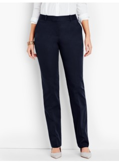Talbots Freeport Pant-Curvy/Double-Weave