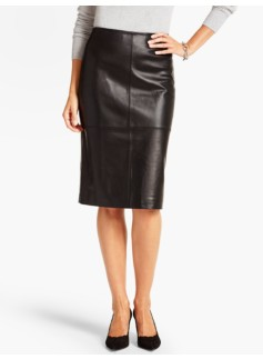 Luxe Leather Skirt