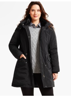 Womans Long Down-Filled Parka