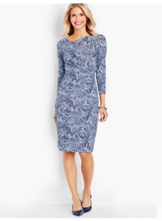 Bella Artful Paisley Dress