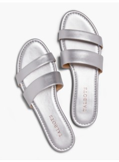 Sadie Slides-Metallic