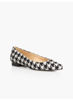 Edison Bold Houndstooth Flats