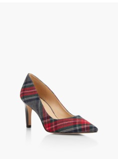 Eri Pumps-Bonfire Plaid