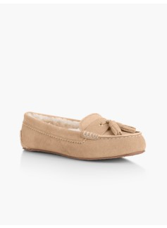 Dreamy Suede Moccasin Slippers