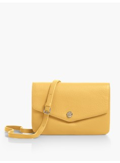 Double-Gusset Crossbody Bag