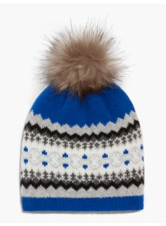 Bluesy Fair Isle Hat
