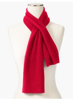 Cashmere Pull-Through Scarf