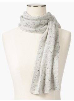 Cashmere Pull-Through Scarf - Donegal Tweed