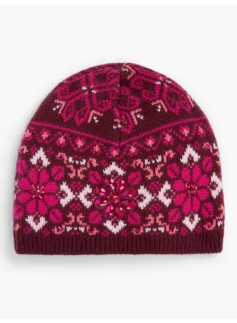 Medallion Fair Isle Hat