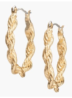 Twisted-Rope Hoops