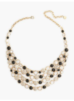 Bead Bib Necklace