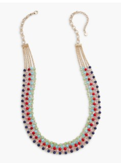 Bright Bead Multi-Strand Necklace