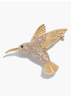 Hummingbird Brooch