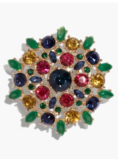 Shiny Cluster Brooch