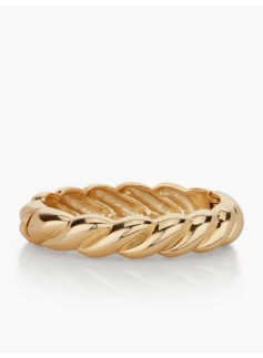 Hinged Braided Bangle