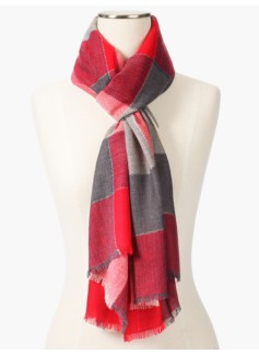 Classic Buffalo Plaid Scarf