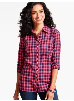The Classic Casual Shirt-Plaid Checks