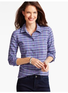 The Classic Casual Shirt-Cozy Plaid