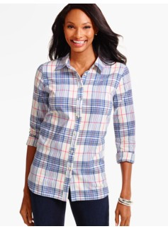 The Classic Casual Shirt-Fanciful Plaid