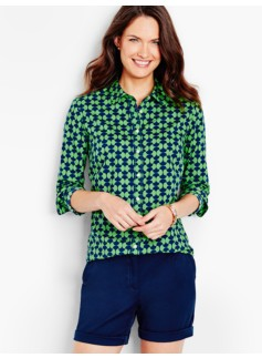 The Classic Casual Shirt-Abstract Hourglass