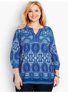 Medallion Paisley Popover