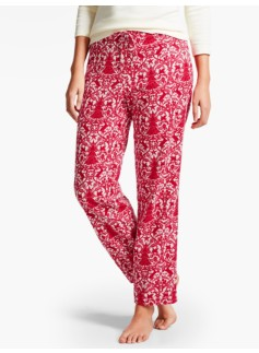 Festive Scroll Sleep Pant