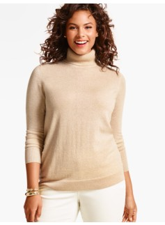 Cashmere Turtleneck-Gold