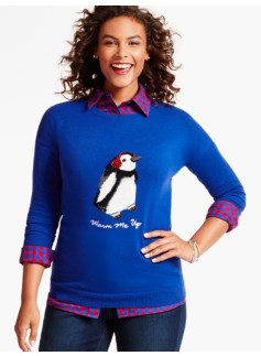 Tinsel Penguin Sweater