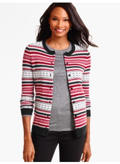 Charming Cardigan - Fair Isle