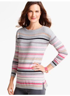 Festive Stripes Sweater