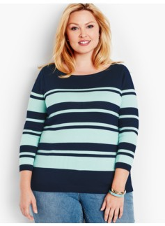 Resort Stripes Sweater