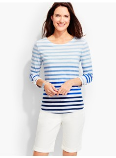 Ombre Stripes Tee