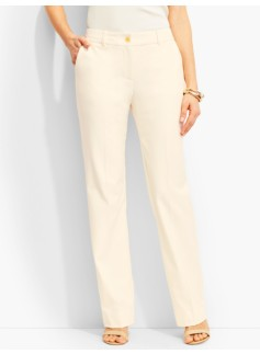 Lindsey Full-Length Trouser-Curvy/Ivory