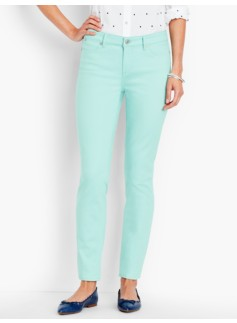 The Flawless Five-Pocket Ankle-Candy Pastels
