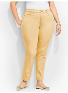 The Flawless Five-Pocket Slim Ankle-Curvy/Candy Pastels