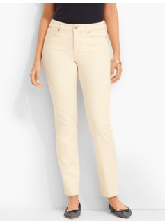 The Flawless Five-Pocket Ankle-Curvy/Natural Denim