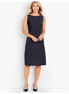 Seasonless Wool A-Line Sheath