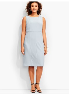 Luxe Italian Double-Weave Sheath Dress-Newport Collection