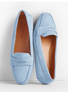 Becca Driving Moccasins-Suede